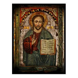 Cartão Postal Todo o cristo poderoso - Chrystus Pantokrator