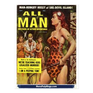 Cartão Postal Todo o homem, em maio de 1959
