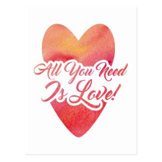 Cartão Postal todo-você-necessidade-estar-amor