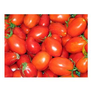 Cartão Postal Tomates de ameixa