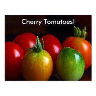 Cartão Postal Tomates de cereja