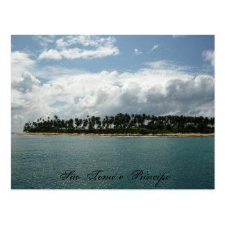 Cartão Postal tomé 4 do são, São Tomé e Príncipe