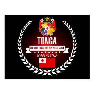 Cartão Postal Tonga