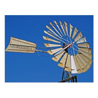 Cartão Postal Toowoomba, moinho de vento de Austrália