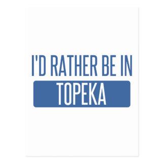 Cartão Postal Topeka