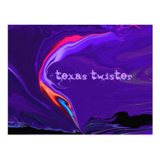 Cartão Postal tornado de texas