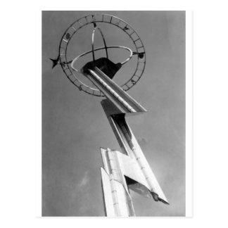 Cartão Postal Torre 1939 da feira de mundo New York