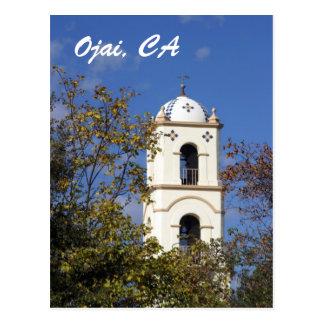 Cartão Postal Torre da estação de correios de Ojai