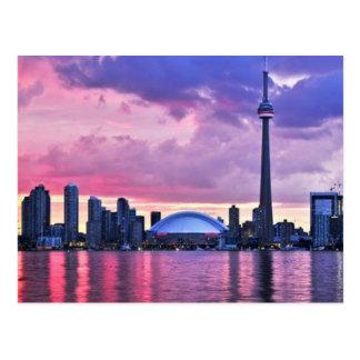 Cartão Postal Torre da NC: Vista da ilha Center Toronto