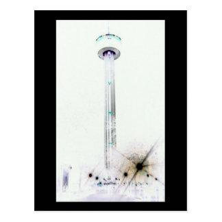 Cartão Postal Torre da série de Americas