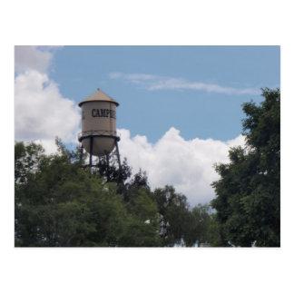 Cartão Postal Torre de água de Campbell, Califórnia