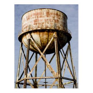 Cartão Postal Torre de água em Alcatraz