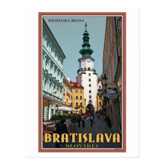 Cartão Postal Torre de Bratislava - de Michael