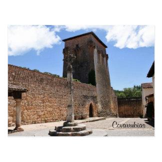 Cartão Postal Torre de Fernán González em Covarrubias