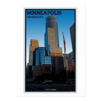 Cartão Postal Torre de Minneapolis - de Capella