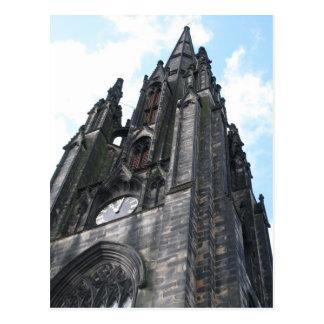 Cartão Postal Torre de pulso de disparo da igreja - Dublin,