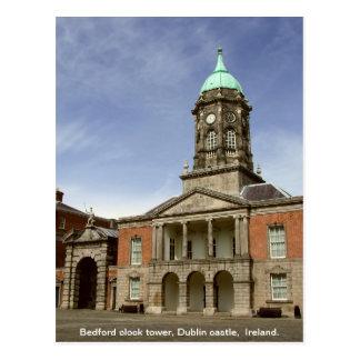 Cartão Postal Torre de pulso de disparo do castelo Ireland - da