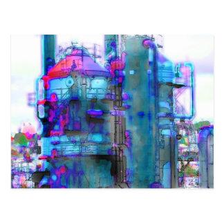 Cartão Postal torre do gás de seattle