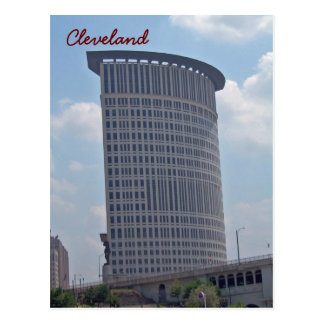 Cartão Postal Torre do tribunal federal, Cleveland Ohio