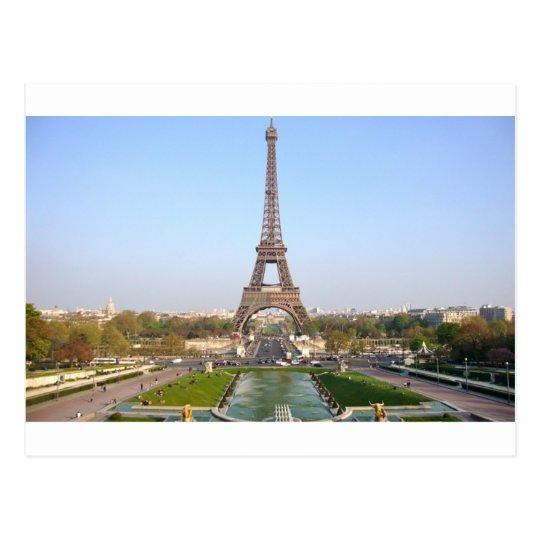 Cartão Postal Torre Eiffel