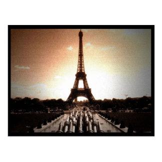 Cartão Postal Torre Eiffel 4