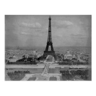 Cartão Postal Torre Eiffel de France, Paris, foto retro