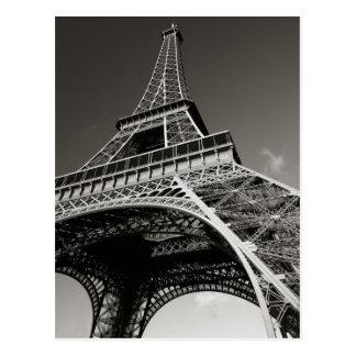Cartão Postal torre Eiffel em Paris