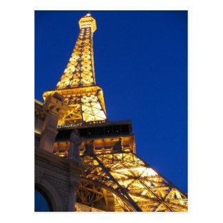 Cartão Postal Torre Eiffel, Las Vegas, Nevada