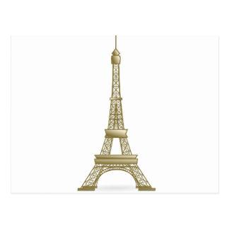Cartão Postal Torre Eiffel Paris