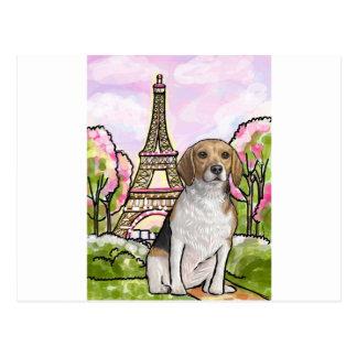 Cartão Postal torre Eiffel Paris do lebreiro