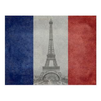 Cartão Postal Torre Eiffel, Paris France