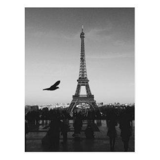 Cartão Postal Torre Eiffel Paris, France