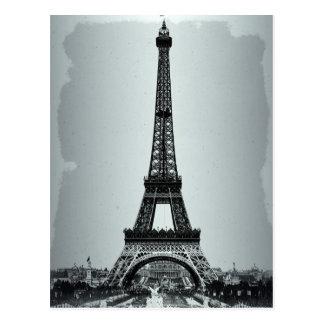 Cartão Postal Torre Eiffel Paris France