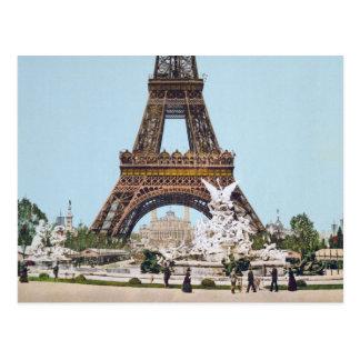 Cartão Postal Torre Eiffel, Paris France 1889