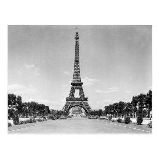 Cartão Postal Torre Eiffel, Paris France 1909
