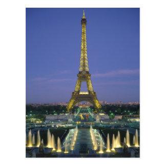 Cartão Postal Torre Eiffel, Paris, France 2