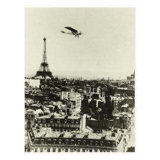 Cartão Postal Torre Eiffel Paris France do espírito II