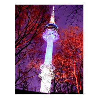 Cartão Postal Torre Seoul de N
