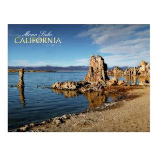 Cartão Postal Torres do tufo no mono lago, Califórnia