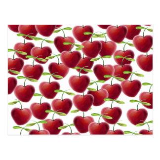 Cartão Postal Torta da cereja