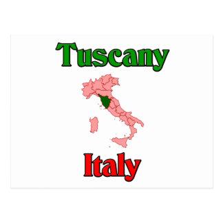 Cartão Postal Toscânia Italia