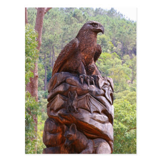 Cartão Postal Totem que cinzela, Portugal de Eagle