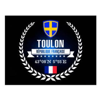 Cartão Postal Toulon