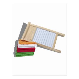 Cartão Postal TowelsWashBoard112810