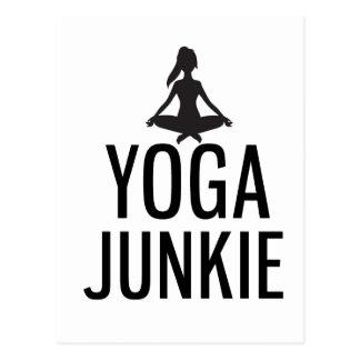 Cartão Postal Toxicómano da ioga