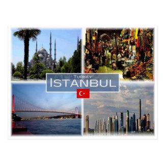 Cartão Postal TR Turquia - Istambul -