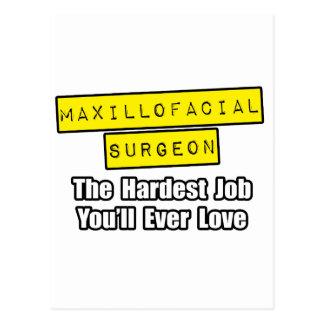 Cartão Postal Trabalho o mais duro Maxillofacial do cirurgião…