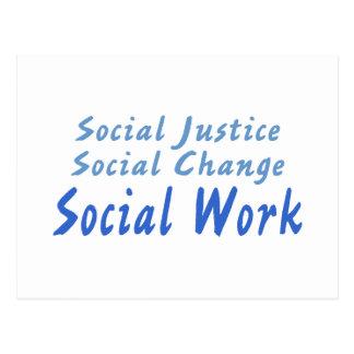 Cartão Postal Trabalho social