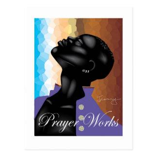 Cartão Postal Trabalhos da oração