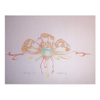 Cartão Postal trabalhos de arte 010